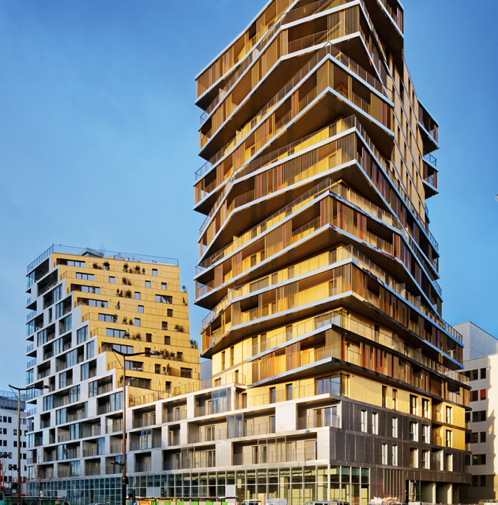Bâtiment HOME, ZAC Masséna, Paris, France | Highrise