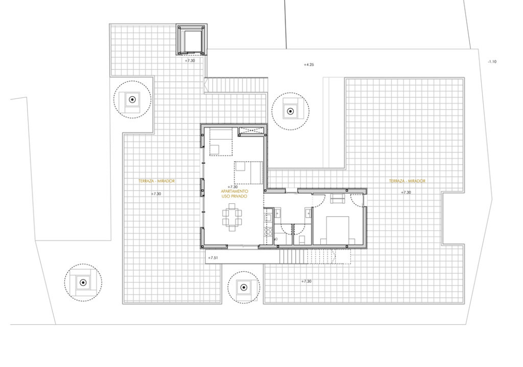 Bela Muxía Hostel Extension - Plan 8