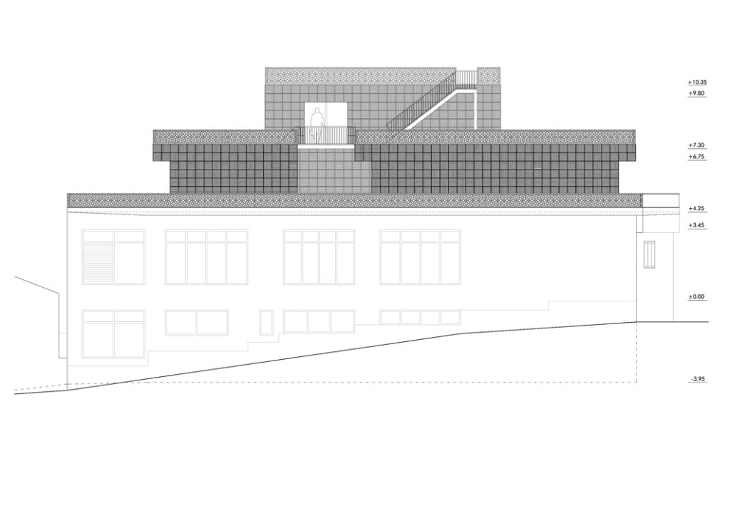 Bela Muxía Hostel Extension - Plan 2