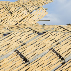 China Pavilion Expo Milano 2015 Dachdetail