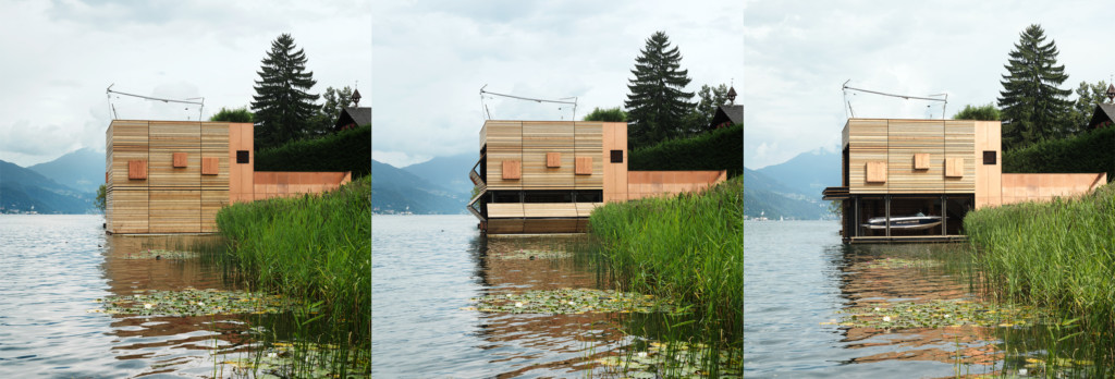 Boathouse Seeboden_Ansicht_2