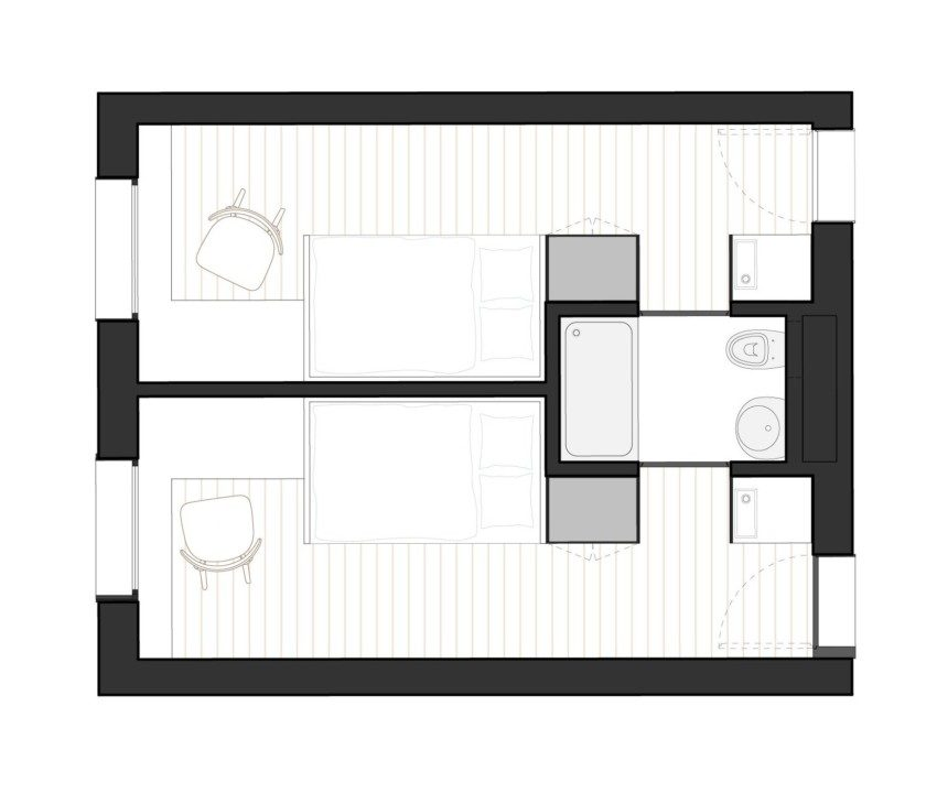 Doorm Student Housing_plan 5