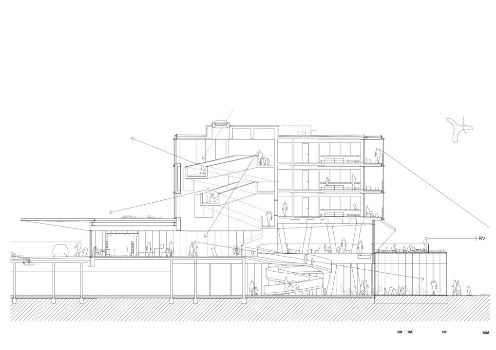 Hotel Amarin_Cross Section