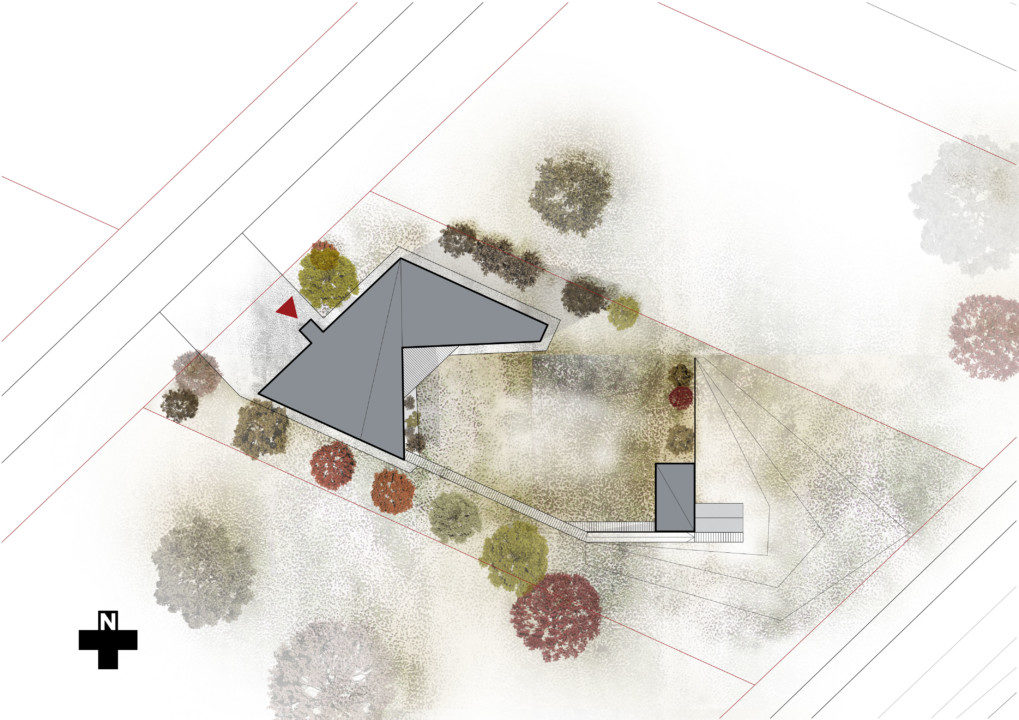 House in Koidu Village_Site Plan