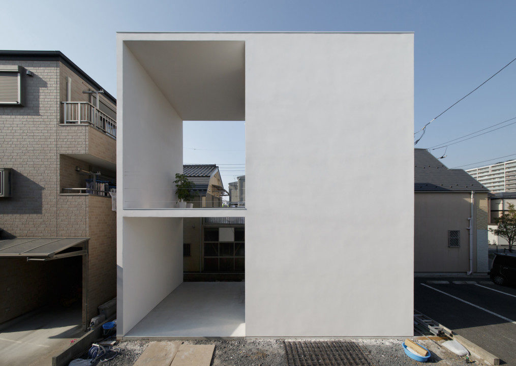 Little house with a big terrace tokyo japan detached house for House and terrace