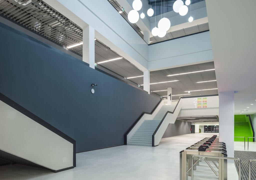 Multifuntional Sports Hall Treppe