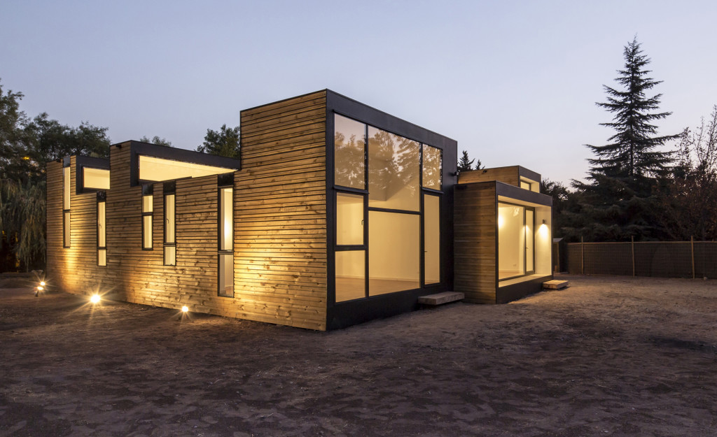 Sip m3 house colina chile detached house for Sip house