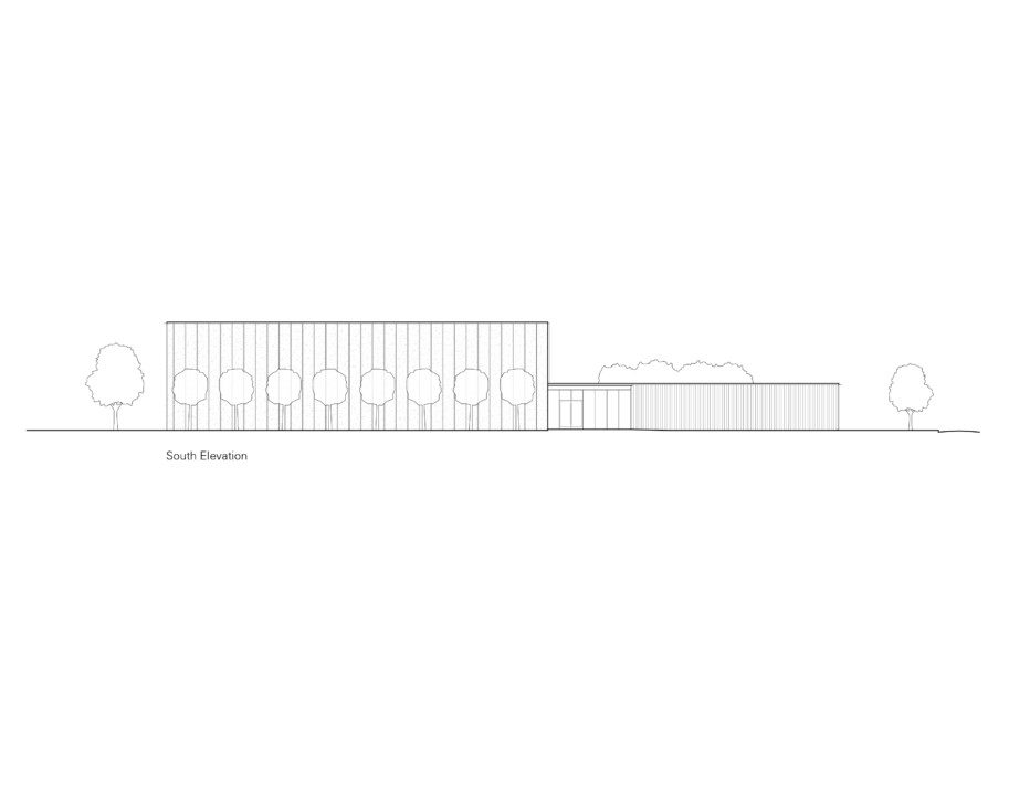 TREC_South Elevation