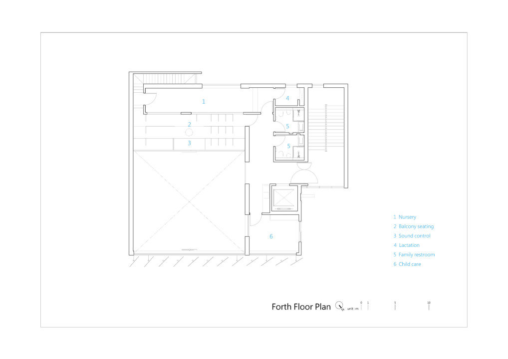 TTMHC_Fourth Floor Plan