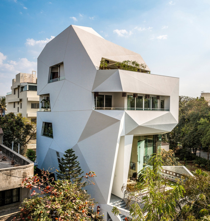 the origami house pune india detached house origami house by 3lectric on deviantart