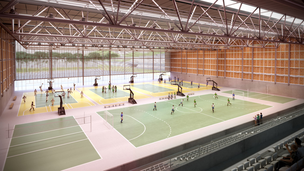 Youth Arena Innenrendering