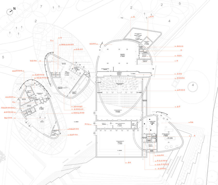 Verbania Cultural Centre and Teather_plan_6