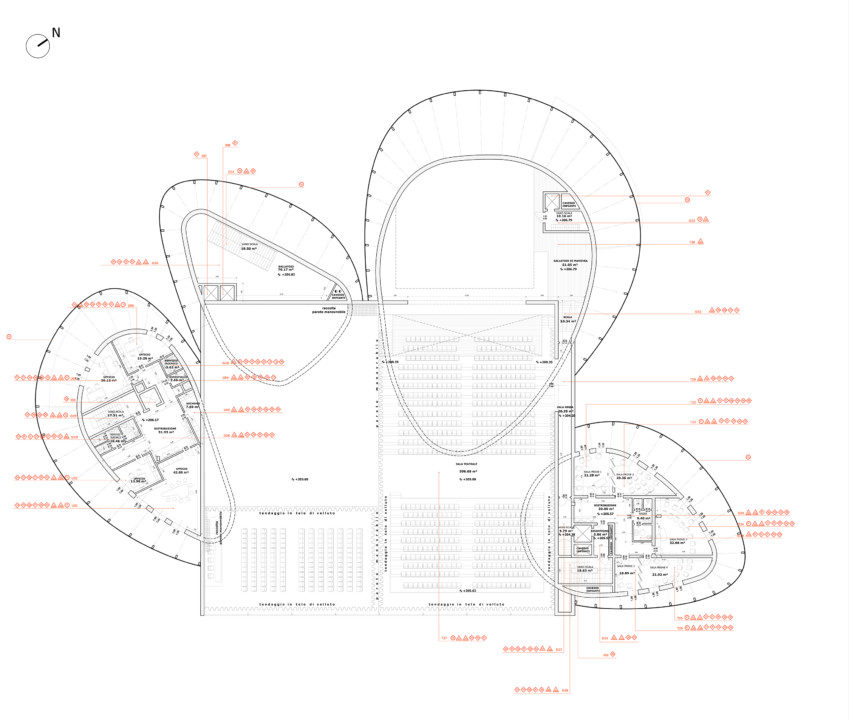 Verbania Cultural Centre and Teather_plan_8