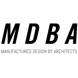 Manufactured Design By Architects | MDBA - Logo