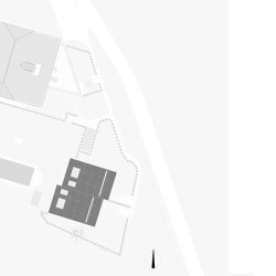 peter pichler architecture mirror houses siteplan a