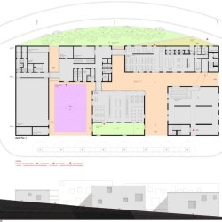 Antas Educative Center - Plan 1